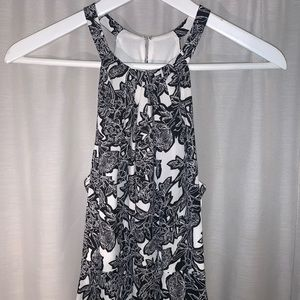 NWT Express - Floral Sleeveless Fit Flare Dress